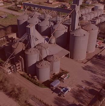 Acopio, acondicionamiento, logística y comercialización de granos